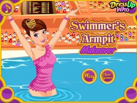 Преобразите пловчиху играть