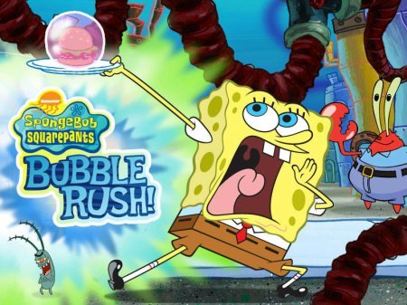 Sponge Bob SquarePants Bubble Rush