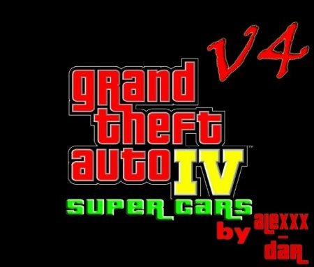 Grand Theft Auto 4 - Super Cars v4