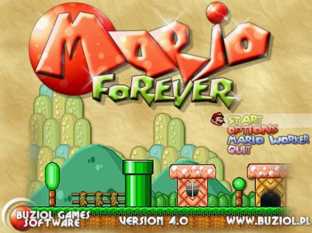 Новый супер Марио Навсегда