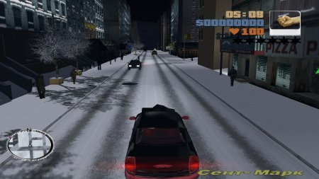 Grand Theft Auto 3: Snow City