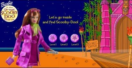 Барби ищет скуби-ду играть