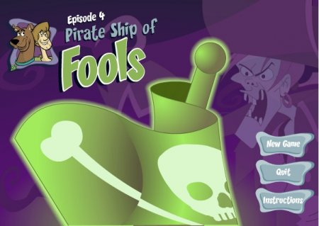 Скуби-ду на страшном корабле играть