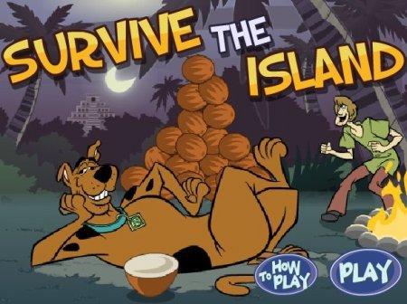 Шегги и Скуби на острове играть
