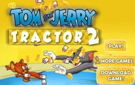Том и Джерри работа на тракторе 2 играть