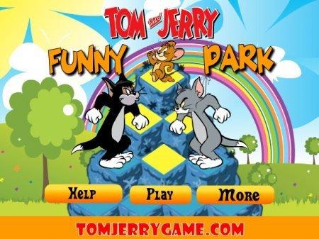 Том и Джерри весёлый парк играть
