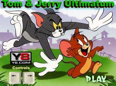 Том и Джерри безумная погоня играть