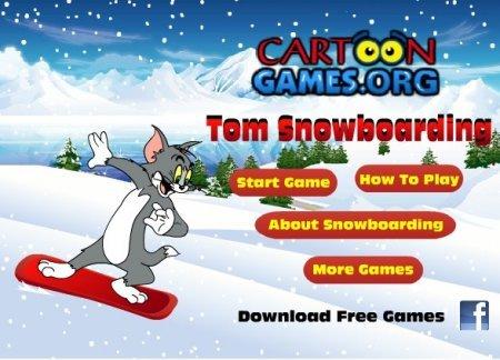 Том на снежных горах играть