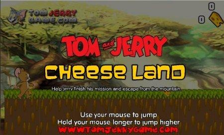 Том и Джерри остров сыра играть