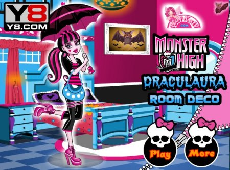 Monster High room deco ������� ������� ������