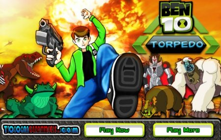 Бен 10 на чужой планете играть