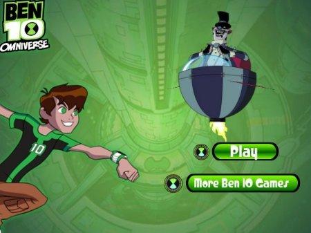 Ben 10 против злобного робота играть