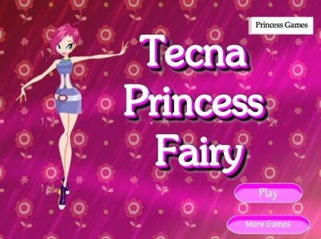 Принцесса Текна и её новый образ играть