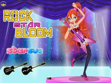 Блум лучшая рок звезда школы винкс играть