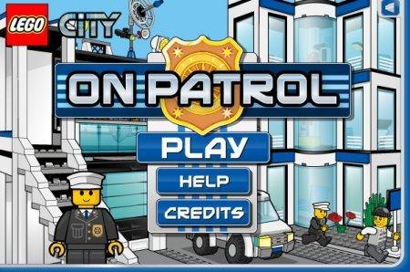Полицейский патруль играть