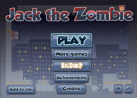 Зомби по имени Джек играть