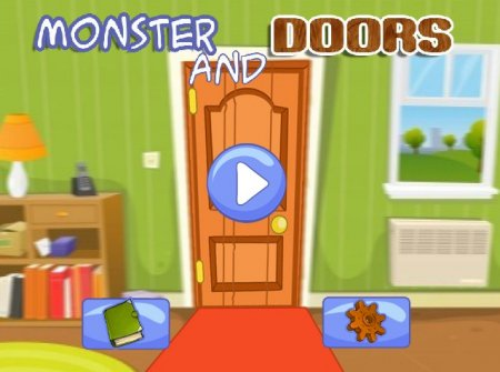 Монстр и двери играть