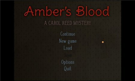 Ambers Blood: A Carol Reed Mystery