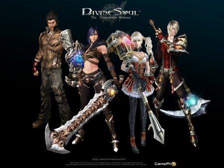 Игра Divine Souls файтинг на ПК