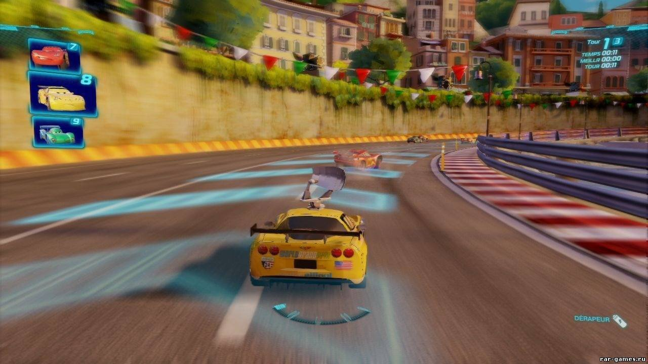 Cars 2: the video game: скриншоты.