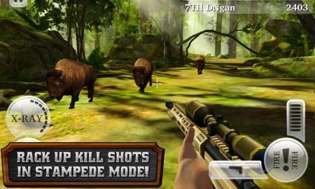 Скачать Deer hunter reloaded для андроид.