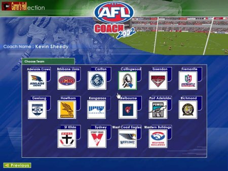 Kevin Sheedy's AFL Coach 2002