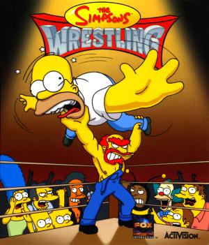 The Simpsons Wrestling скачать для компьютера