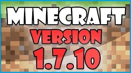 Скачать minecraft 1. 7. 10 через торрент.