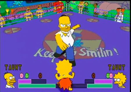 The Simpsons Wrestling ������� ��� ����������