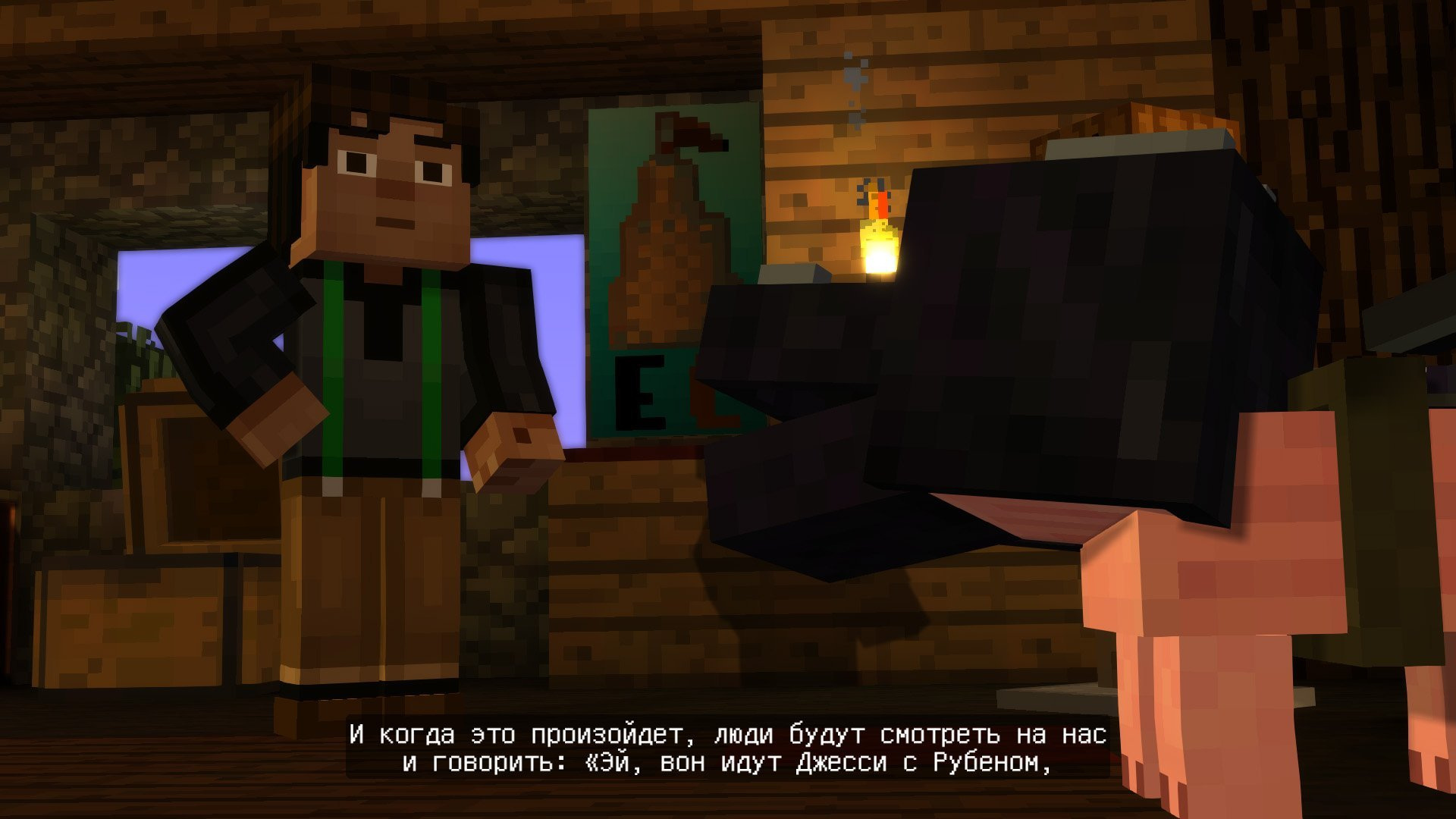 minecraft: story mode episode 1-3 god/rus как установить #3