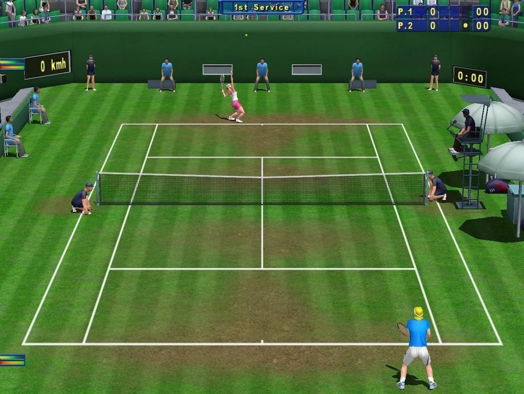 Скачать игру теннис на компьютер торрент